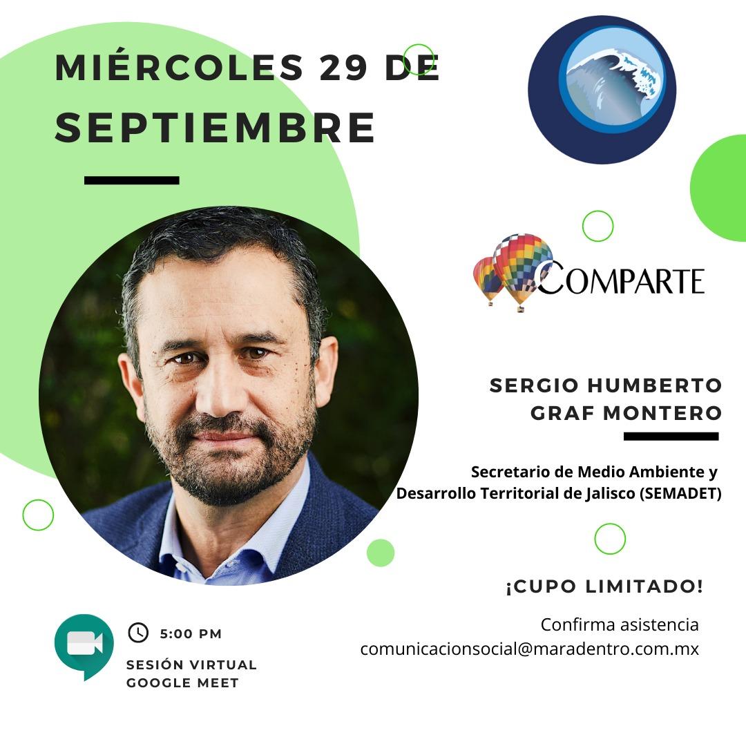 Comparte con Sergio Humberto Graf Montero